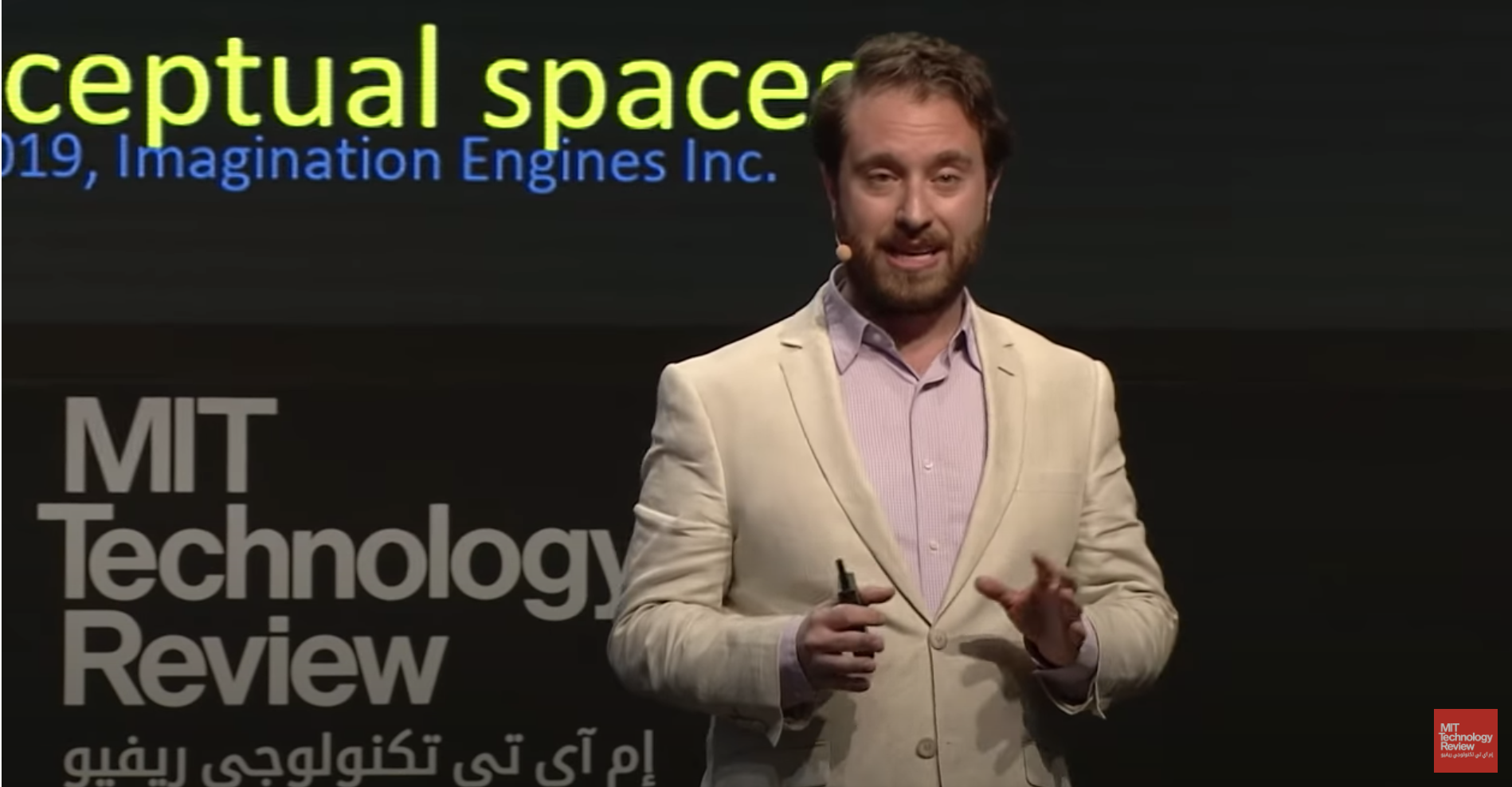 Ryan Abbott Presenting on AI-Generated Inventions at EmTech MENA